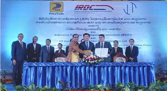 Xây dựng đường sắt Lào