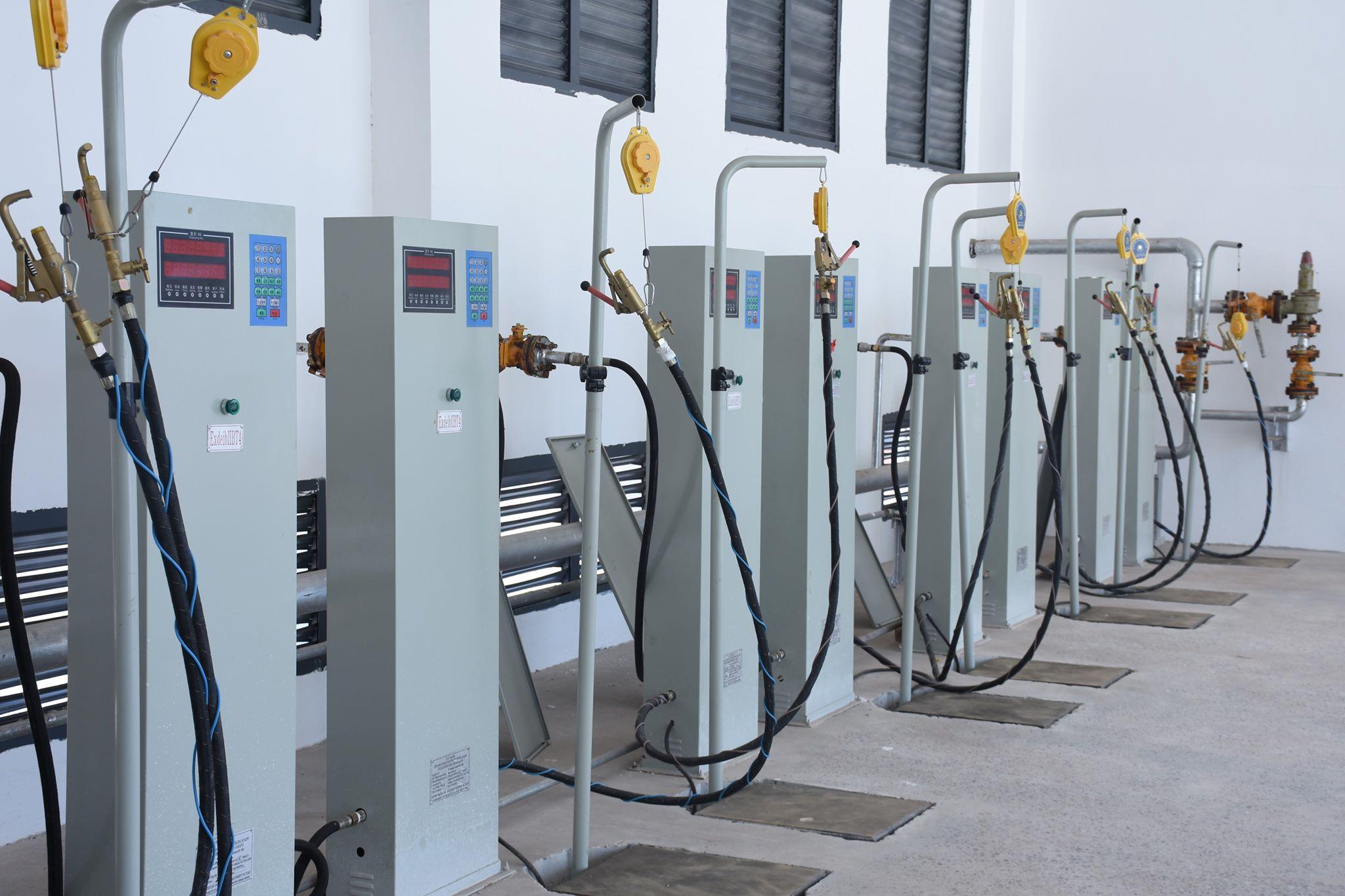Nhà máy chiết nạp gas lớn nhất tại Lào