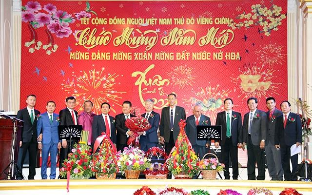 Việt Nam - Lào cùng vững bước xây dựng tương lai tươi sáng