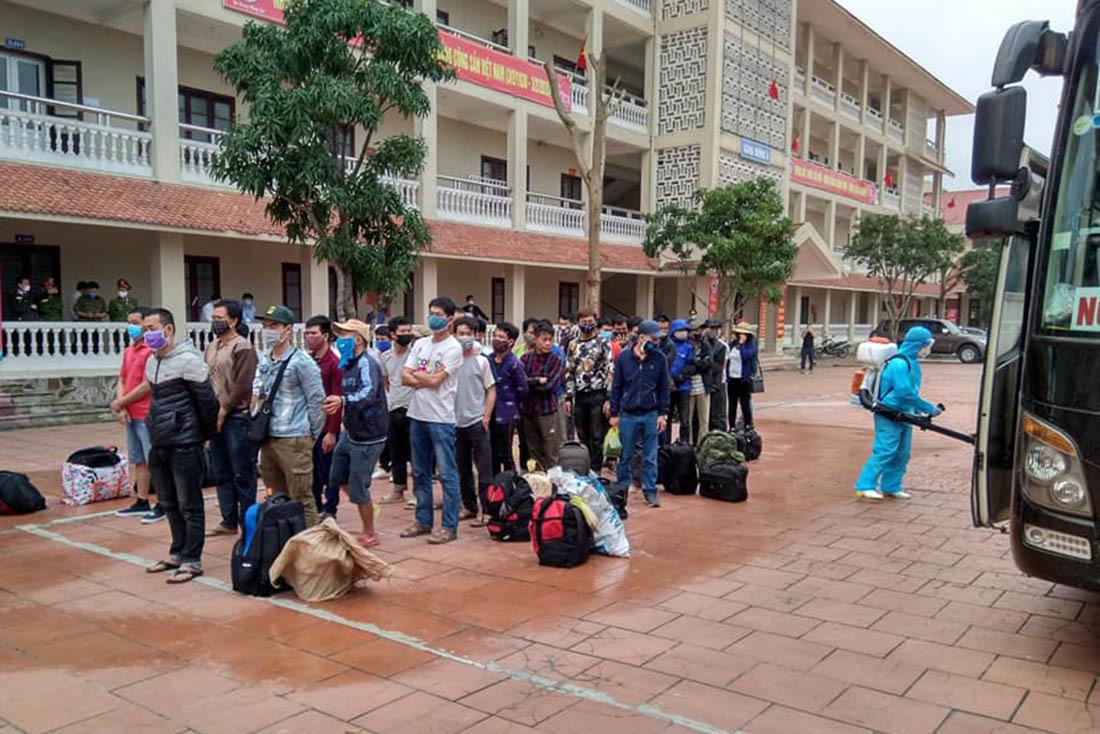 Nghệ An tạm dừng tiếp nhận công dân từ tỉnh khác chuyển đến cách ly