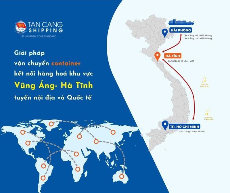 Tân cảng Shipping - giải pháp kết nối hàng quá cảnh trong khu vực ảnh 2