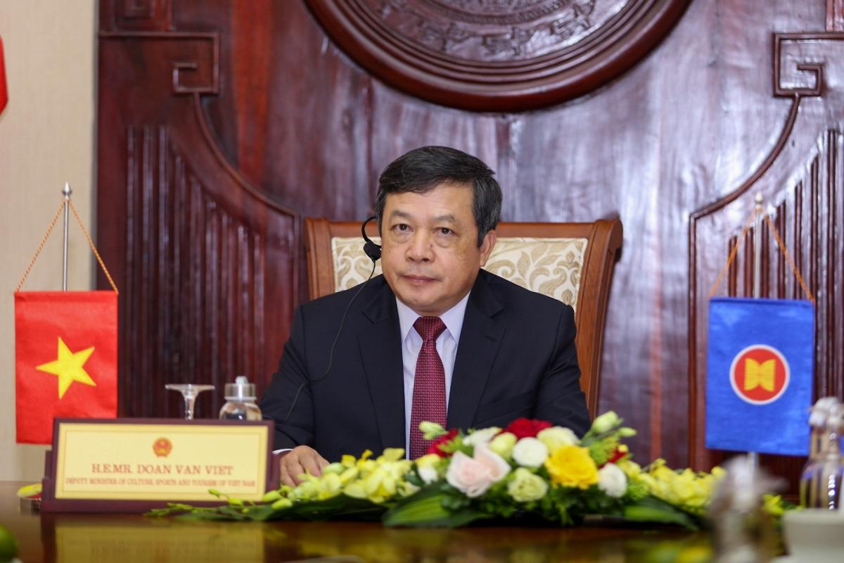 Thứ trưởng Bộ VHTT&DL Đoàn Văn Việt. Nguồn: Tổng cục Du lịch